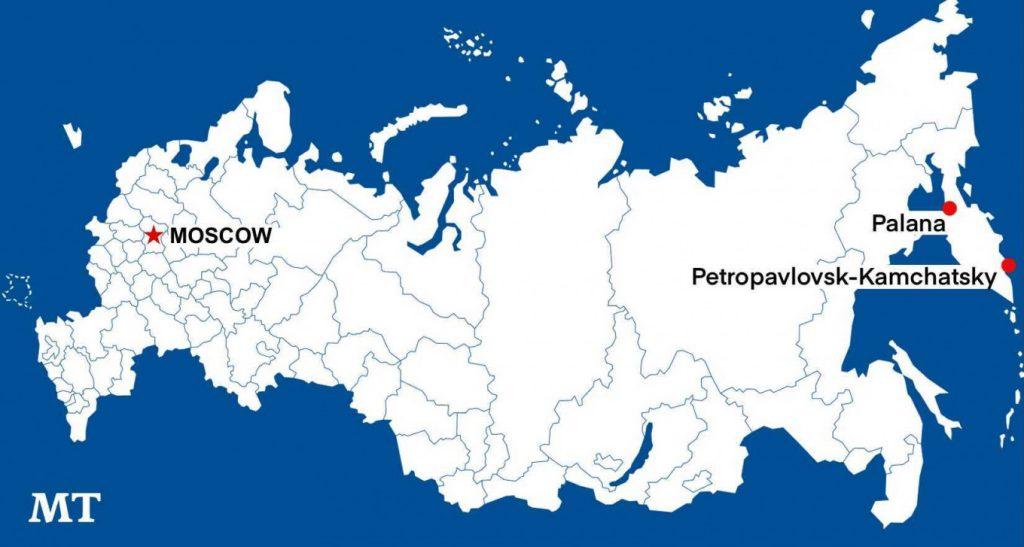 Bangkai Pesawat Penumpang Ditemukan di Rusia Timur